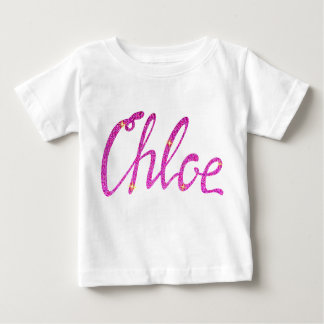 Camiseta fina Chloe del jersey del bebé