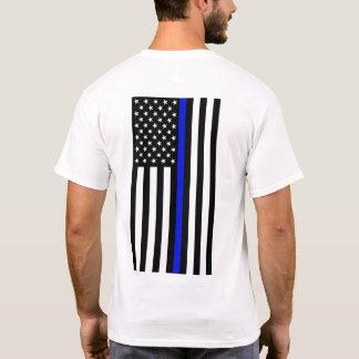 Camiseta fina de Blue Line - trasera