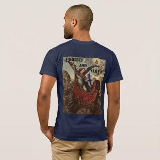 Camiseta fina de San Miguel Blue Line