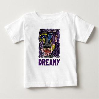 "Camiseta fina del jersey del bebé ""soñador"""