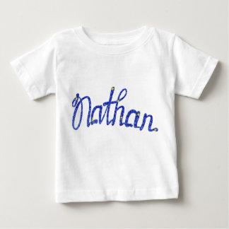 Camiseta fina Nathan del jersey del bebé