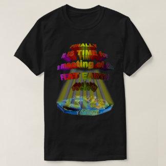 Camiseta Finalmente, reunión de la SOCIEDAD PLANA de la