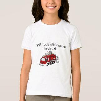 Camiseta Firetruck comercial de los hermanos