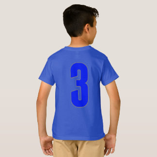 Camiseta Firma azul de Camo