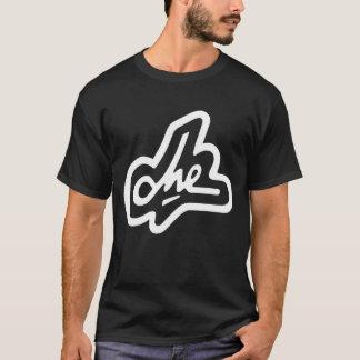 Camiseta Firma de Che Guevara en negro