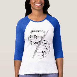 Camiseta Flauta