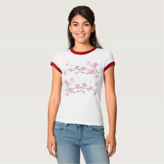 Camiseta Flor de cerezo - Transparente-Fondo