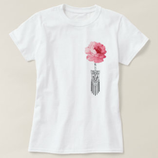 Camiseta Flor de Mudan con las borlas