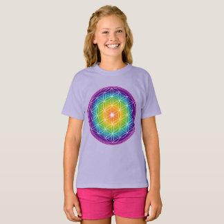 Camiseta Flor del espectro de la vida