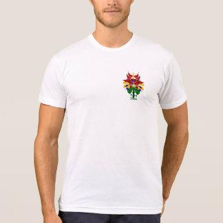Camiseta Flor del pájaro de Steph