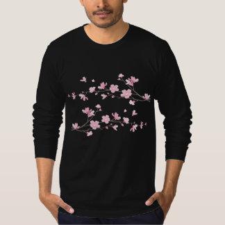 Camiseta Flor oriental de la Flor-Cereza