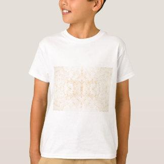 Camiseta Flor Rorschach de la textura de la pared