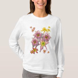 Camiseta Floraciones del Daylily