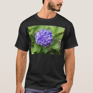 Camiseta Flores de un hydrangea del francés (macrophyl del