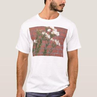 Camiseta Flores en ladrillo