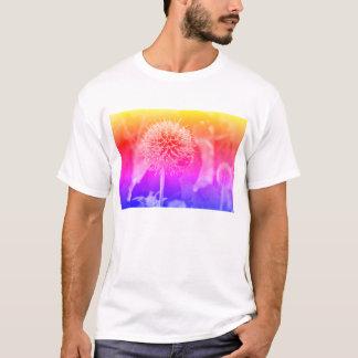 Camiseta Flores y arco iris de las abejas