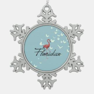 CAMISETA Floridian Adorno De Peltre Tipo Copo De Nieve