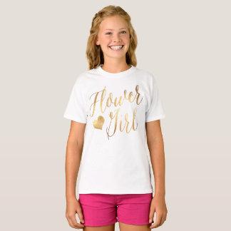 Camiseta Florista de PixDezines/escritura moderna del falso