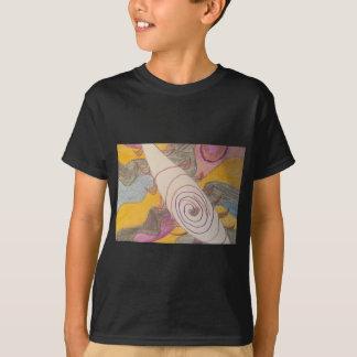 Camiseta Flotación en el vacío del arco iris