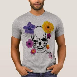 Camiseta Flower Skull Excl