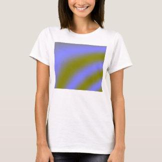 Camiseta fluorescente de las señoras de las nubes