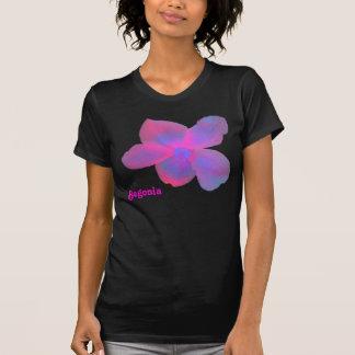 Camiseta fluorescente del personalizable de la