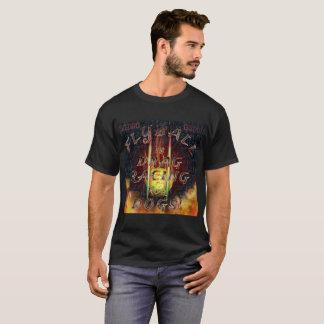 Camiseta Flyball Flamz: ¡Fricción que compite con para los