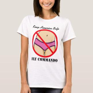 Camiseta FlyCommando-Bragas