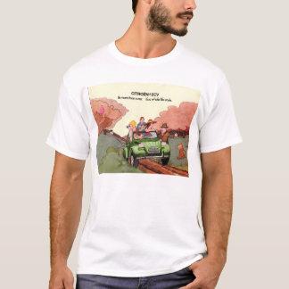 Camiseta Folleto de las ventas de Citroen 2CV