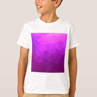 Camiseta Fondo bajo abstracto púrpura bizantino del