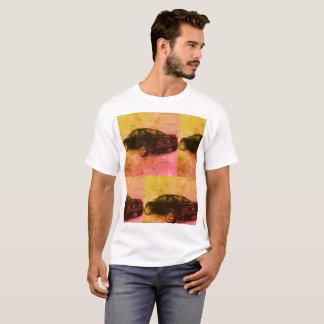 Camiseta Fondo colorido del coche de deportes