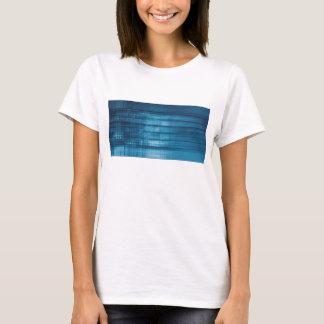 Camiseta Fondo del mosaico de la tecnología como arte del