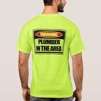 Camiseta Fontanero amonestador en el área