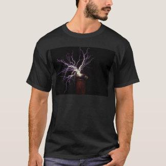 Camiseta Formación de arcos de la bobina de Tesla