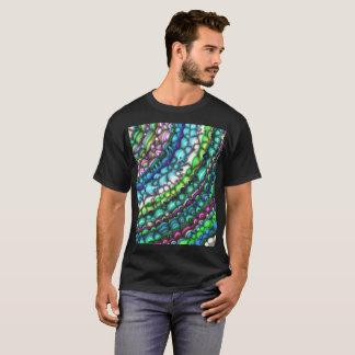 Camiseta Formas espectrales curvadas