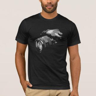 Camiseta Fotografía de la cámara del fotógrafo