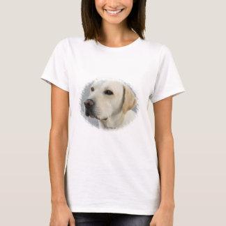 Camiseta Fotografía de oro del labrador retriever