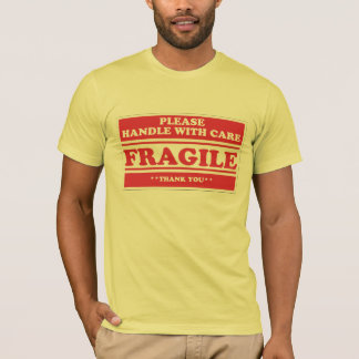 Camiseta Frágil, dirija con cuidado
