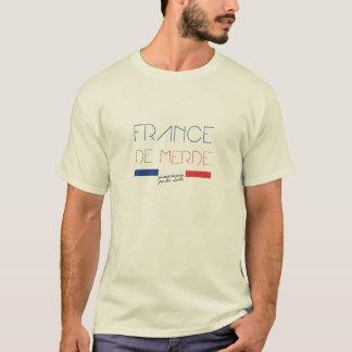 Camiseta Francia de Merde