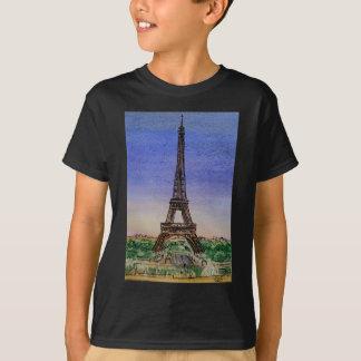 Camiseta Francia-París-Eiffel-torre-ropa
