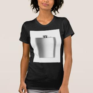 Camiseta Frasco de la cadera del acero inoxidable