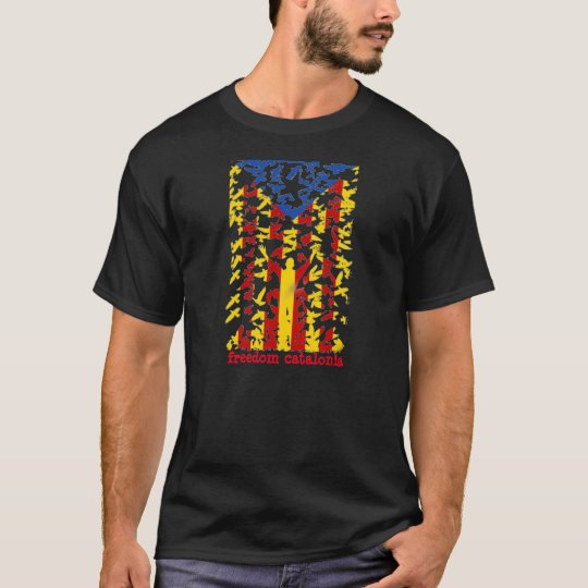 Camiseta freedom catalonia