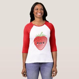 Camiseta Fresa de Kawaii
