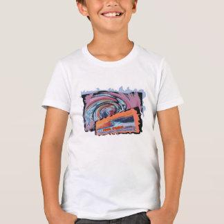 Camiseta fresca de la resaca del tipo