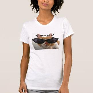 Camiseta fresca del gato de la mamá más fresca