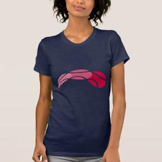 Camiseta fresca del logotipo del tenis