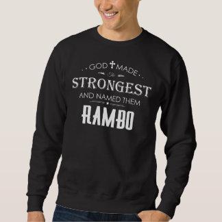 Camiseta fresca para RAMBO