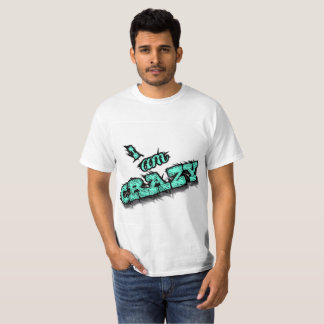"Camiseta fresca ""soy"" barato loco. ¡Venta!"