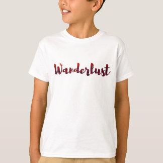 Camiseta fresca /sunset del Wanderlust/viaje del