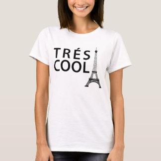 Camiseta fresca Tumblr de Tres París